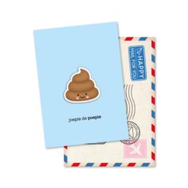 joepie de POEPIE | magneetkaart