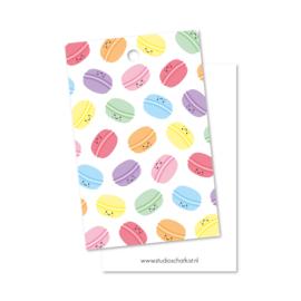 Kadolabel | patroon macarons