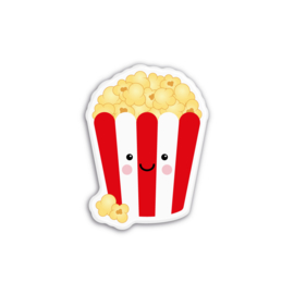 bakje popcorn | magneet