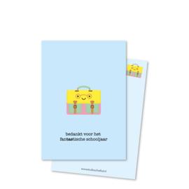 bedankt voor het fanTAStische schooljaar (kleine afbeelding) | kaarten