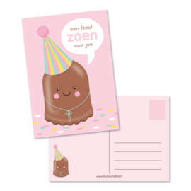 een feest ZOEN voor jou | kaarten