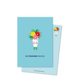een BLOEMETJE voor jou (kleine afbeelding) | kaarten
