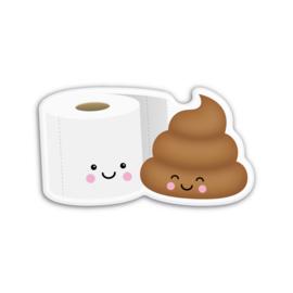 toiletrol & drolletje   magneet