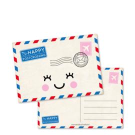 happy POSTcrossing | kaarten