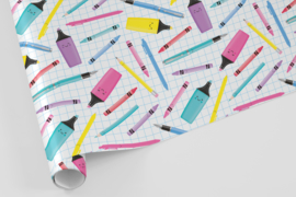 Kado/kaftpapier | stationery, 5 vellen