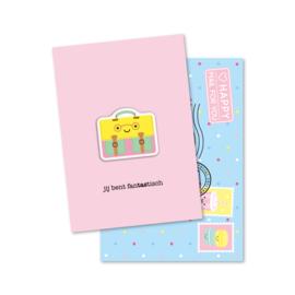 jij bent fanTAStisch | magneetkaart