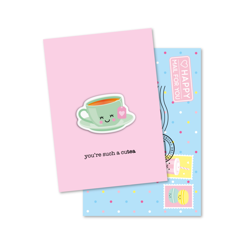 you're such a cuTEA | magneetkaart