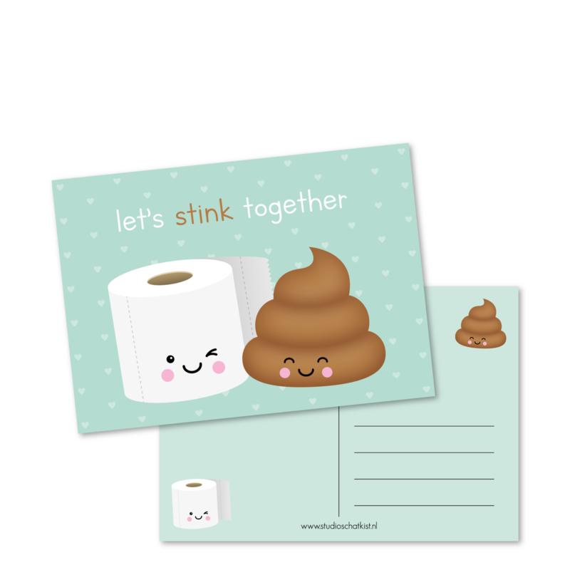 let's STINK together   kaarten