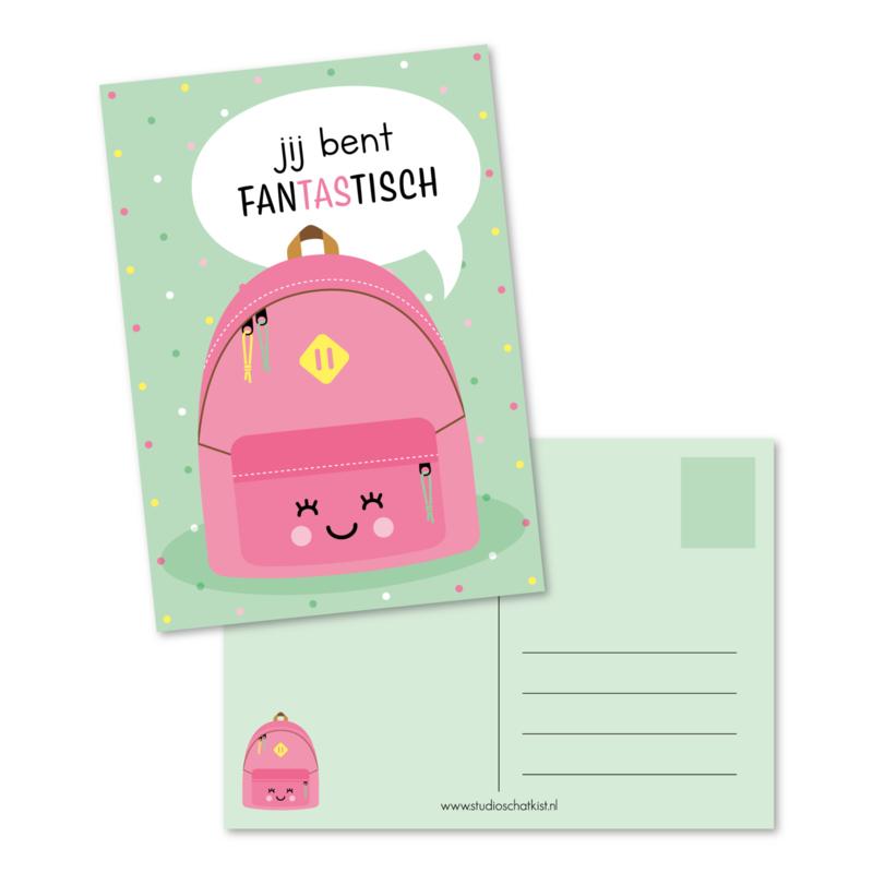 jij bent fanTAStisch (roze)   kaarten