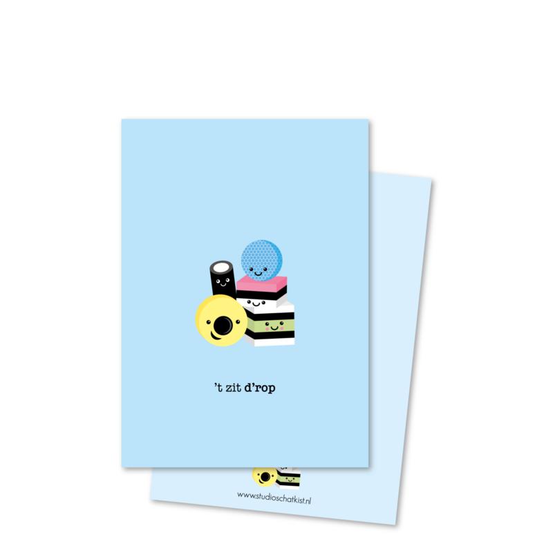 't zit D'ROP (kleine afbeelding) | kaarten