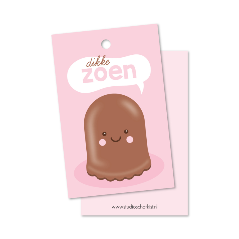 dikke chocolade ZOEN | kadolabels