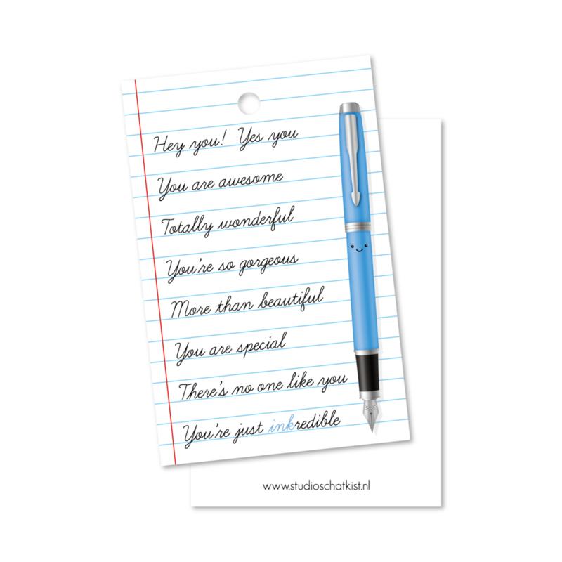 you're INKredible | kadolabels