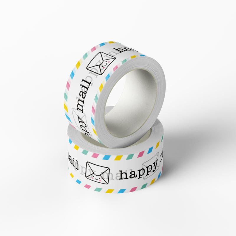 Washitape happy MAIL