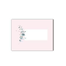 Enveloppen 5 stuks  | Pink & Green
