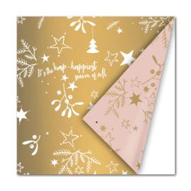 Kerst   Inpakpapier, Lint & Washi tape