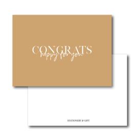 Mini Kaart | Congrats