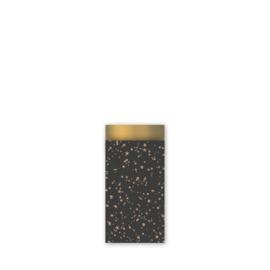 5 x Cadeauzakjes | Black Twinkling Stars |  X Small