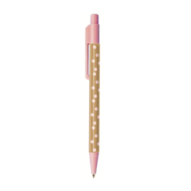 Pen | Pink & Some cute dots