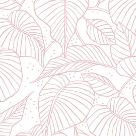10 VELLEN Vloeipapier | Pink Leaves