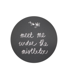 Stickers | Per 10 stuks | Meet me under the mistletoe