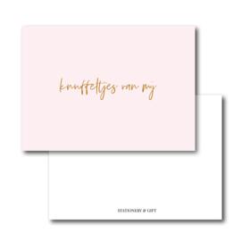 Mini Kaart | Knuffeltjes van mij
