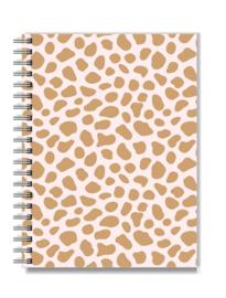Notitieboek met elastiek naar keuze! | Pink Cheetah