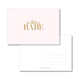 Kaart | Birthday BABE