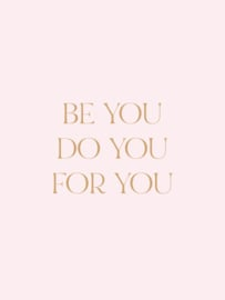 Poster 50 x 70 cm | Be YOU