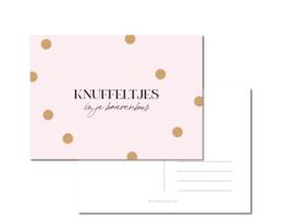 Kaart | Knuffeltjes in je brievenbus!