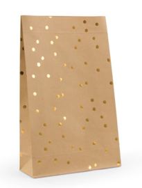 Gift Bag | Blokbodem | Golden Dots | Large