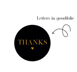 D O O S || Stickers | 500 stuks | Thanks