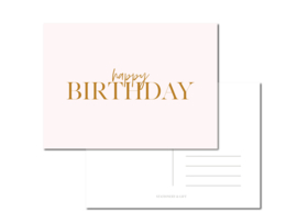 Kaart | HAPPY BIRTHDAY