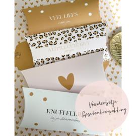 Aanbieding | 4 Geschenkverpakkingen