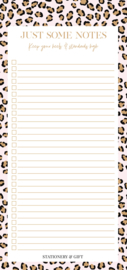 Notitieblok  | Pink Leopard Notes