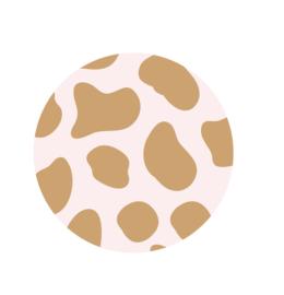 D O O S || Stickers | 500 stuks | Pink Cheetah