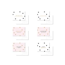 Kaarten Voordeelset DOTS | 6 kaarten