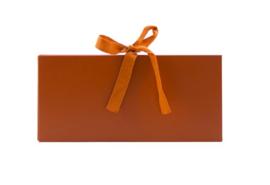 Luxe Geld Cadeau Envelop | Roest & een strik van stof