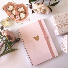 Elastiek voor om je Planner/Notebook met penloop!