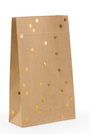 Gift Bag | Blokbodem | Golden Dots | Medium
