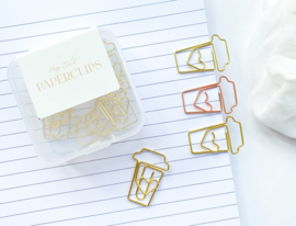 Paperclips COFFEE Rose Gold | 10 stuks