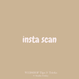 WEBSHOP Tips & Tricks   Insta Scan