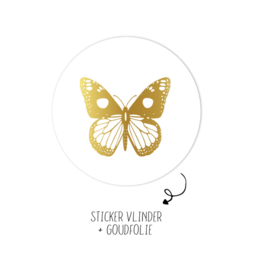 Stickers   Per 10 stuks   Vlinder