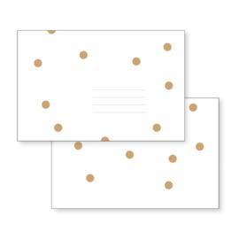 Envelop | Brown Dots