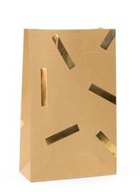 Gift Bag | Blokbodem | Golden Confetti | Medium