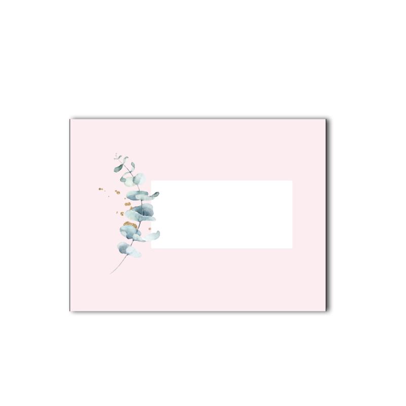 Envelop | Pink & Green