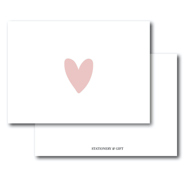 Mini Kaart | Pink Heart