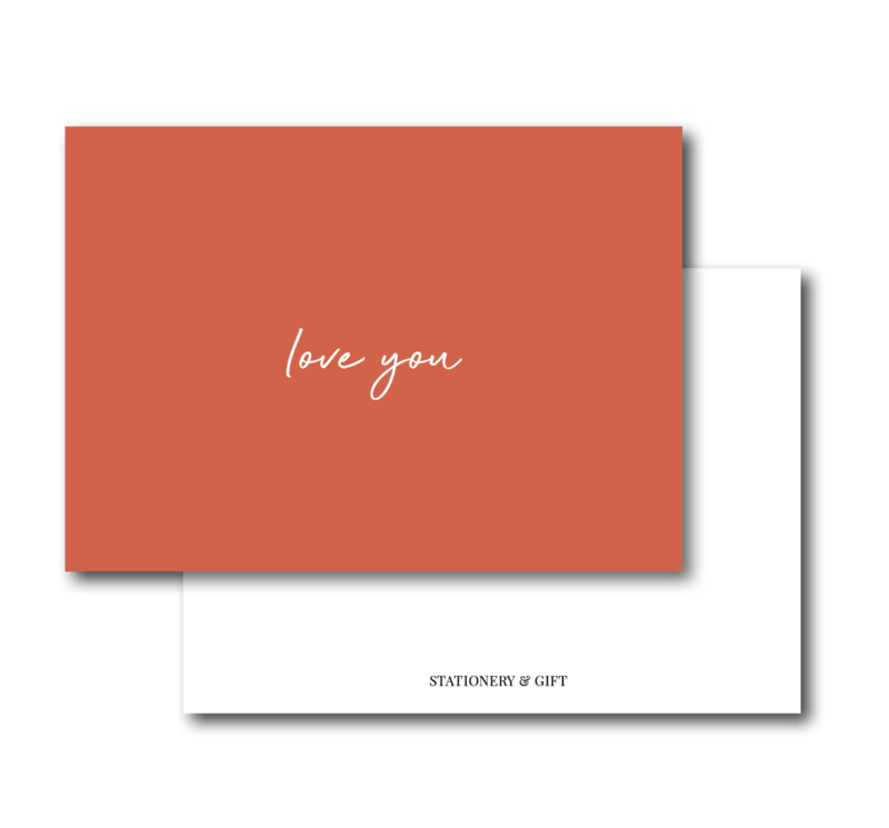 Mini Kaart   Love you