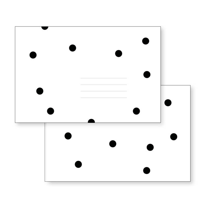 Envelop | Black Dots