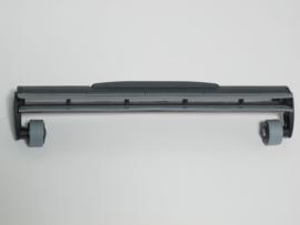 Accessoire vloermondstuk breed, rubber/rubber