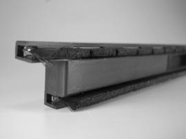 Borstel-schrob inlage voor vloermondstuk 40 cm